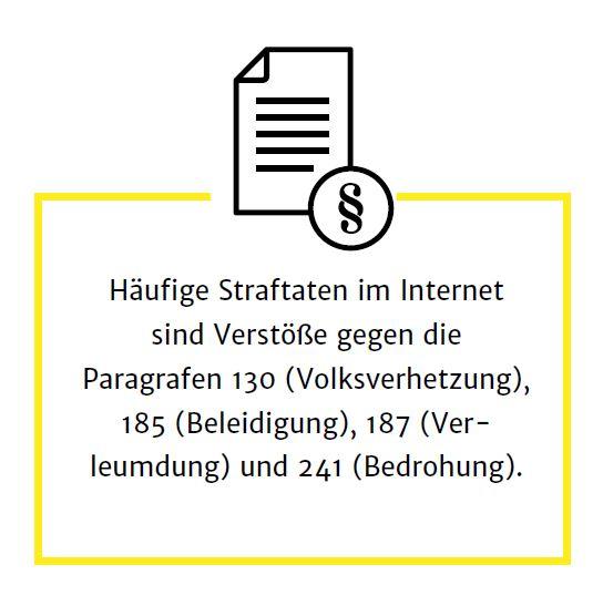 Häufige Straftaten im Internet