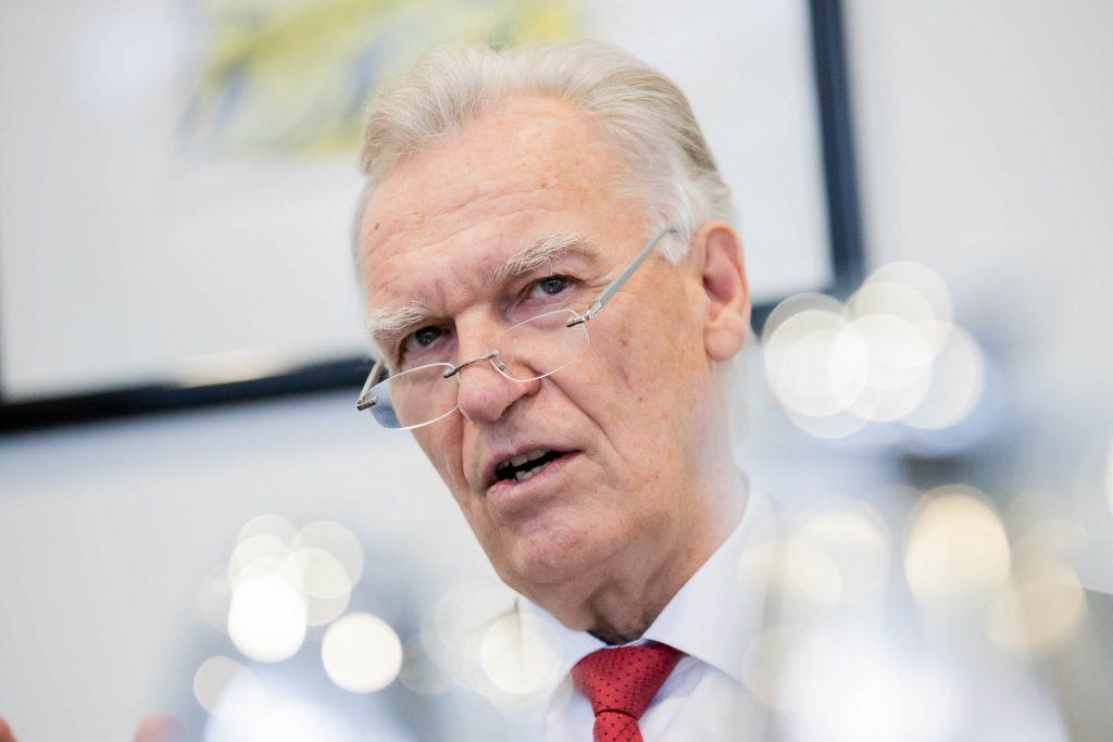 Der Bundesvorsitzende des WEISSEN RING, Jörg Ziercke. Foto: Soeder