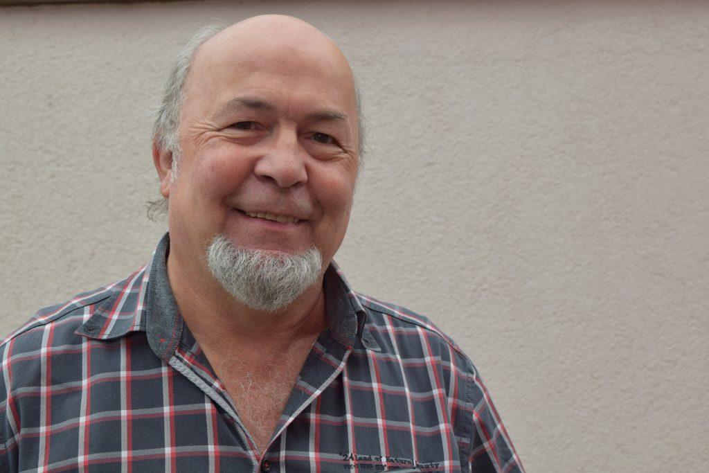 Psychologe Karl-Günther Theobald. Foto: WEISSER RING