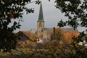 Tatort: Kirche St. Bonifatius in Neuenkirchen-Vörden (Landkreis Vechta). Foto: Krogmann/NWZ