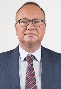 Oberstaatsanwalt Frank-Michael Laue, 48 Jahre alt, leitet seit Juli 2020 die neu eingerichtete Zentralstelle zur Bekämpfung von Hasskriminalität im Internet mit Sitz in Göttingen, Niedersachsen.