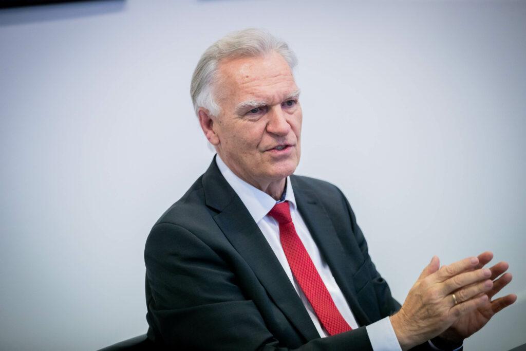 Prof. Jörg Ziercke, Foto: Christoph Soeder/WEISSER RING
