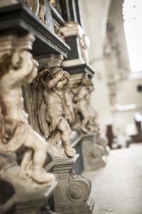 Ein Kirchenbild, aufgenommen in Münster. Alle drei in diesem Text vorkommenden Missbrauchsfälle spielten sich im Bistum Münster ab ∙ Foto: Erik Hinz